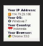 Gadget Pelacak IP Address Di Blog