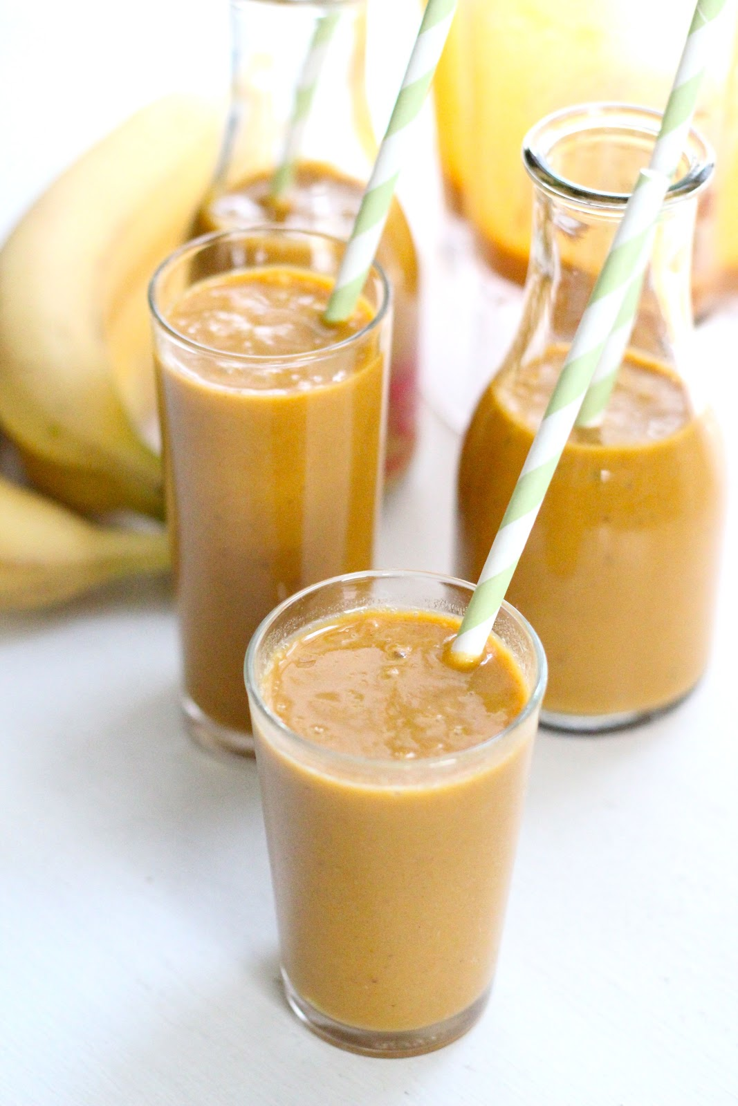 pumpkin spice smoothie | Eat Good 4 Life
