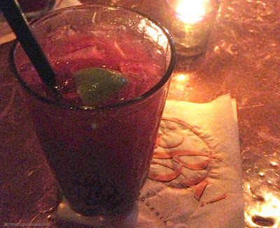 Marionberry Margarita at Oba! Restaurante in Portland