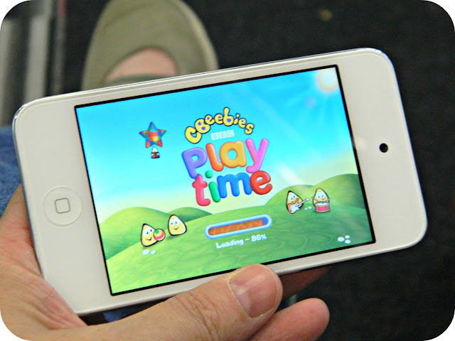 cBeeebies Playtime on the iPod Touch