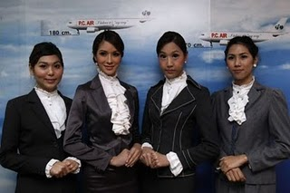 Ladyboy Flight Attendants photo, World First Transsexual Air Hostesses in Thai Airlines, Thai Airlines Air Hostesses, Ladyboy Flight Air Hostesses photo