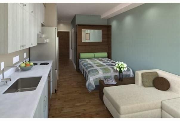 decoracao mini kitnet:Ótimas ideias de decoração para apartamentos pequenos ou kitnets