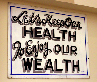 Stay Healthy for Increasing Wealth