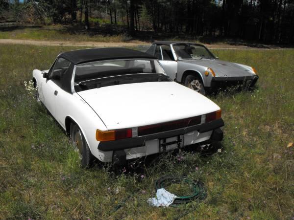 Daily Turismo Outta Left Field 1970s Porsche 914s