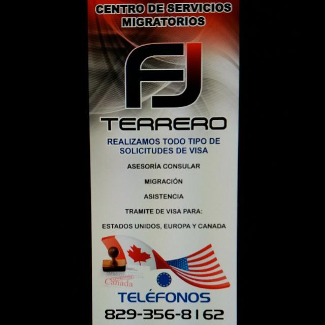 SOMOS FJ TERRERO SERVICOS MIGRATORIOS Y CONSULARES CONATACTOS: 829-356-8162