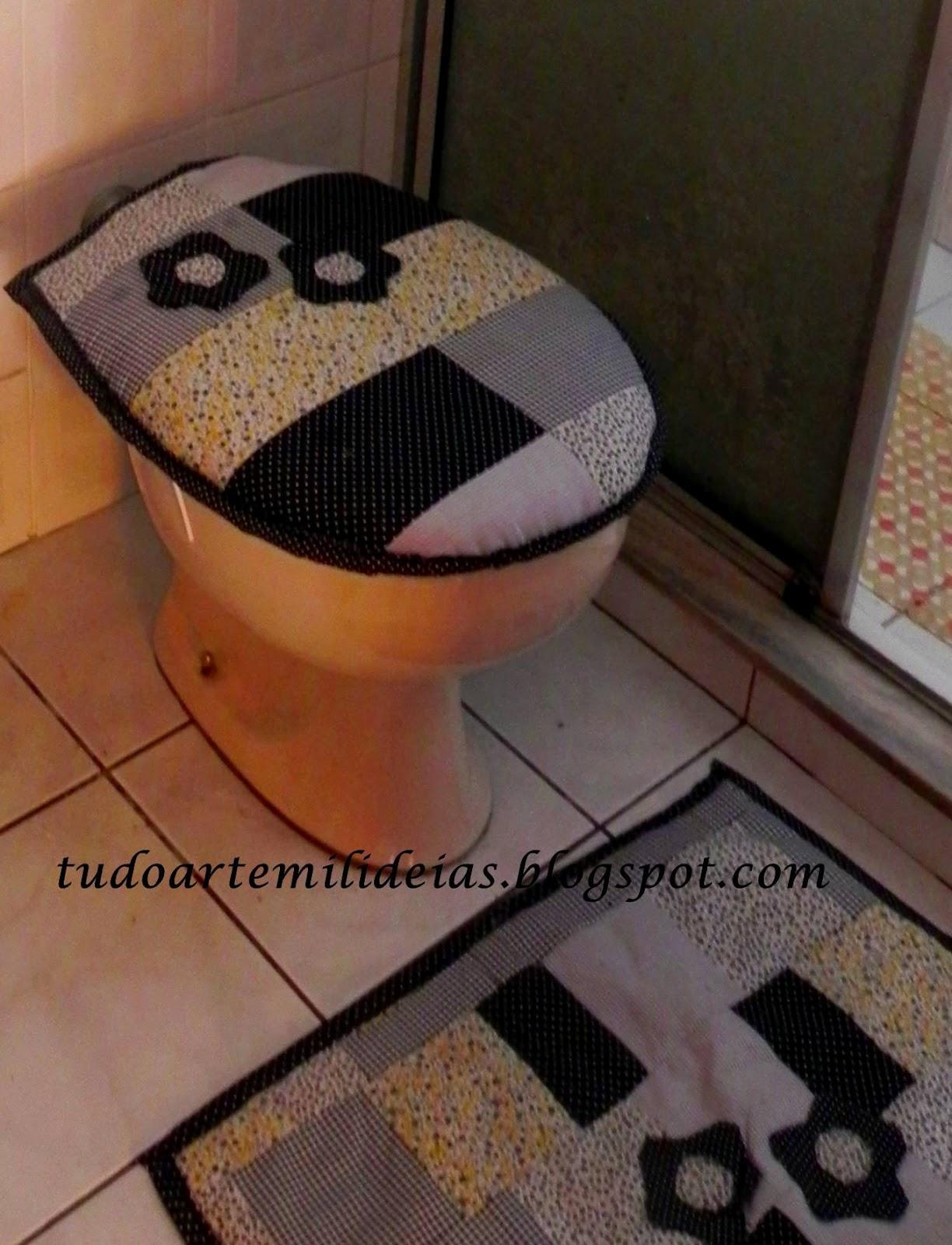 Imagens de #9B6030 artesanato jardim da vovo:Meu banheiro ficou mais feliz e eu também! 1224x1600 px 3396 Bloco Cad De Banheiro