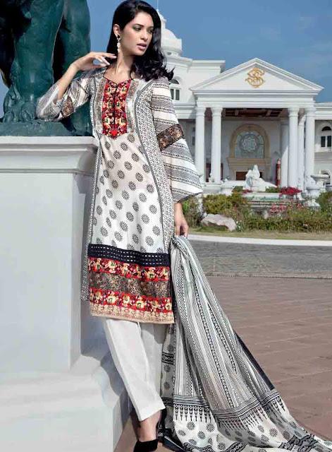 Fashion magazine gul ahmed lawn collection