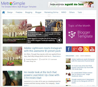 SEO and Google adsense optimized blogger templates free - Blogging ...