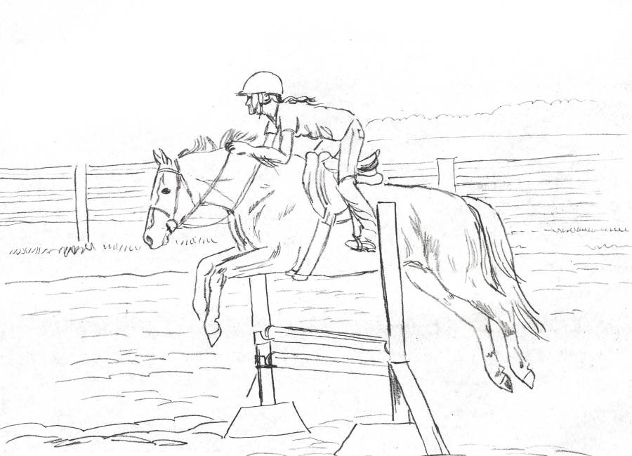 Coloring Pages Horse Coloring