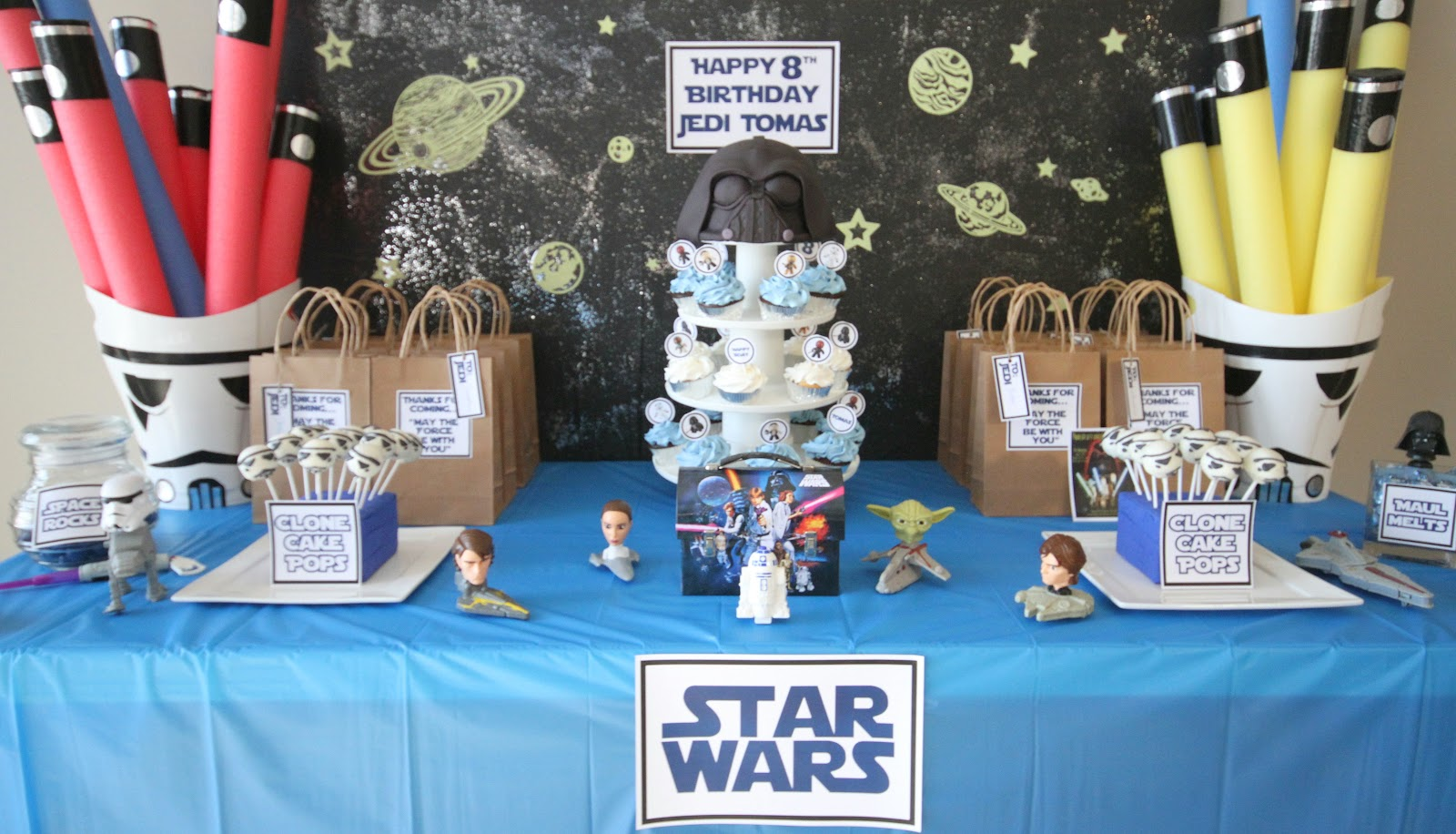 Star Wars Birthday Party Wrap Up