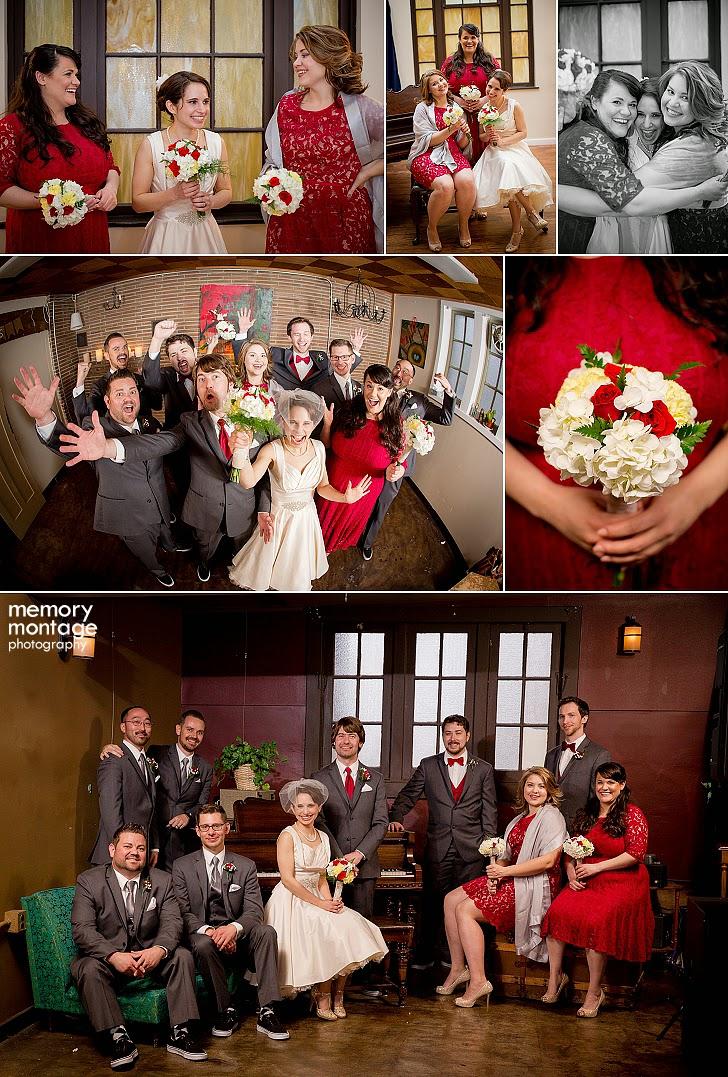Fremont Abbey Seattle WA wedding photography