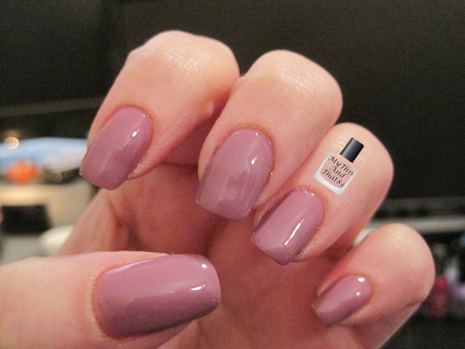Lexington Lilac polish from NYC