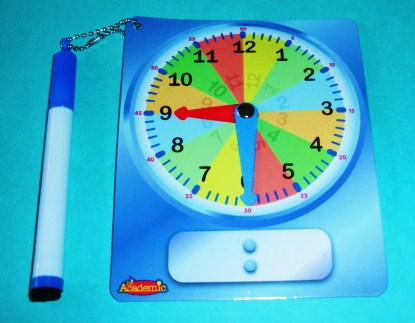Learning Ideas - Grades K-8: Paper Plate Clocks Round-Up and Telling ...
