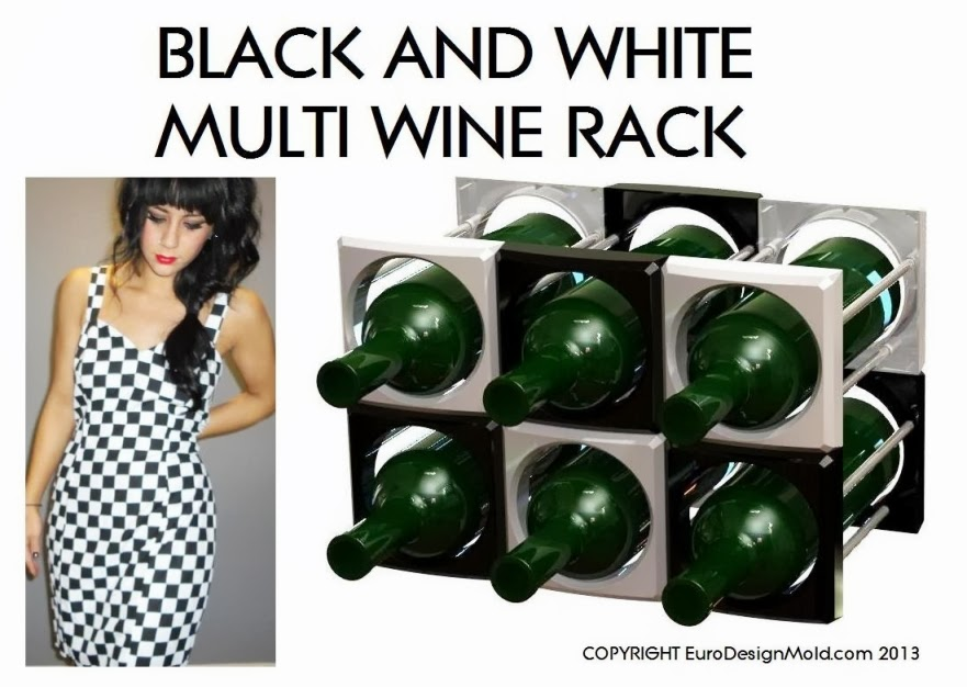 Multi wine rack by EuroDesignMold