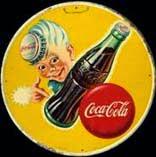 Tôle ancienne Coca Cola