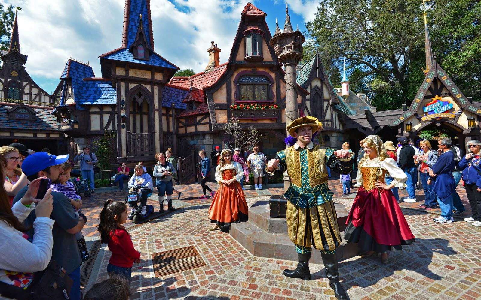 Disneyland Park Princess Fantasy Faire Royal Proclamation