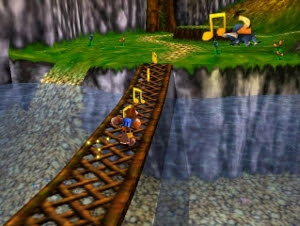 Screenshot of Nintendo 64 game Banjo-Kazooie