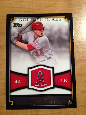 2012 Topps Gold Futures Mark Trumbo