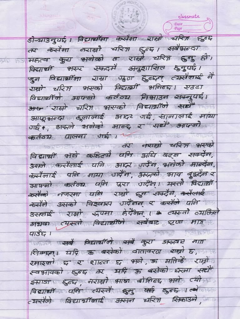 Essay on status of women in nepal