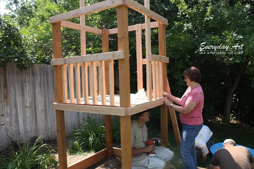 Billy easy wooden swing set plans wood plans us uk ca for How to make a simple wooden swing set