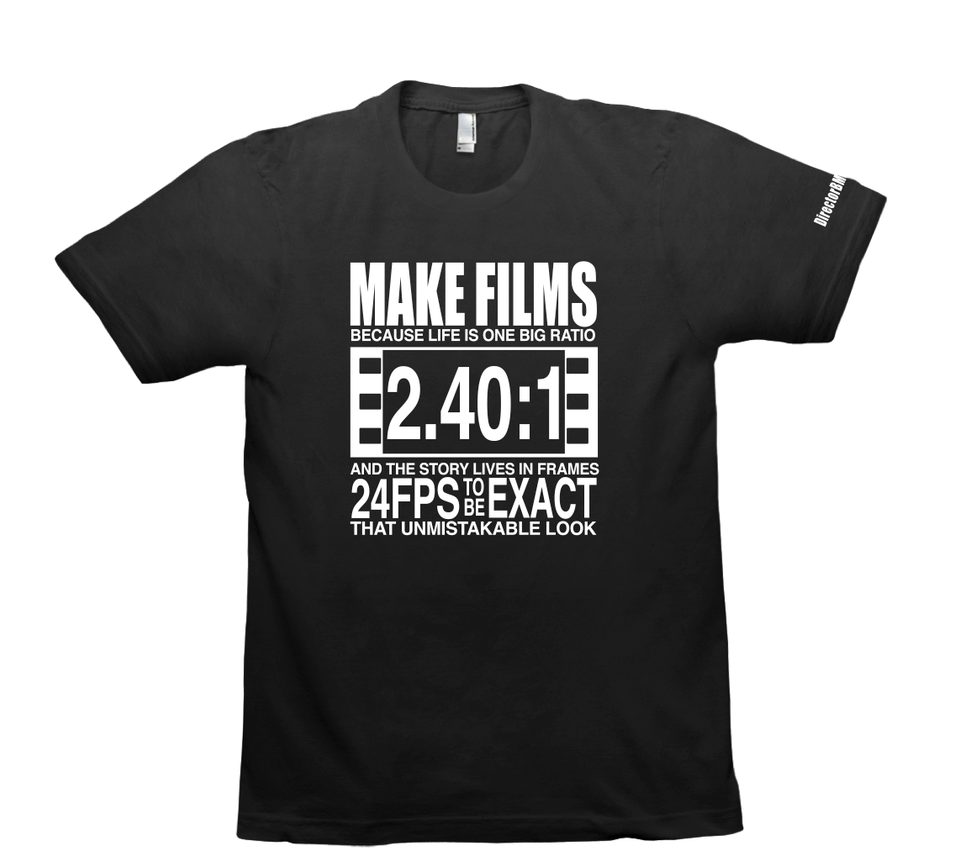 ON SALE NOW - Exclusive [MAKE FILMS] Tee Shirt by Director B Mason