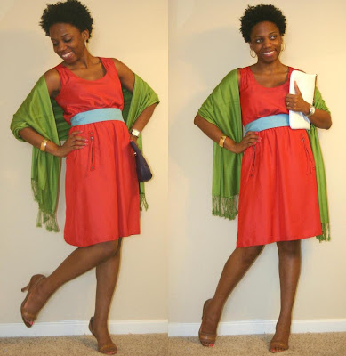 Color Blocking for a Weekend at Keeneland