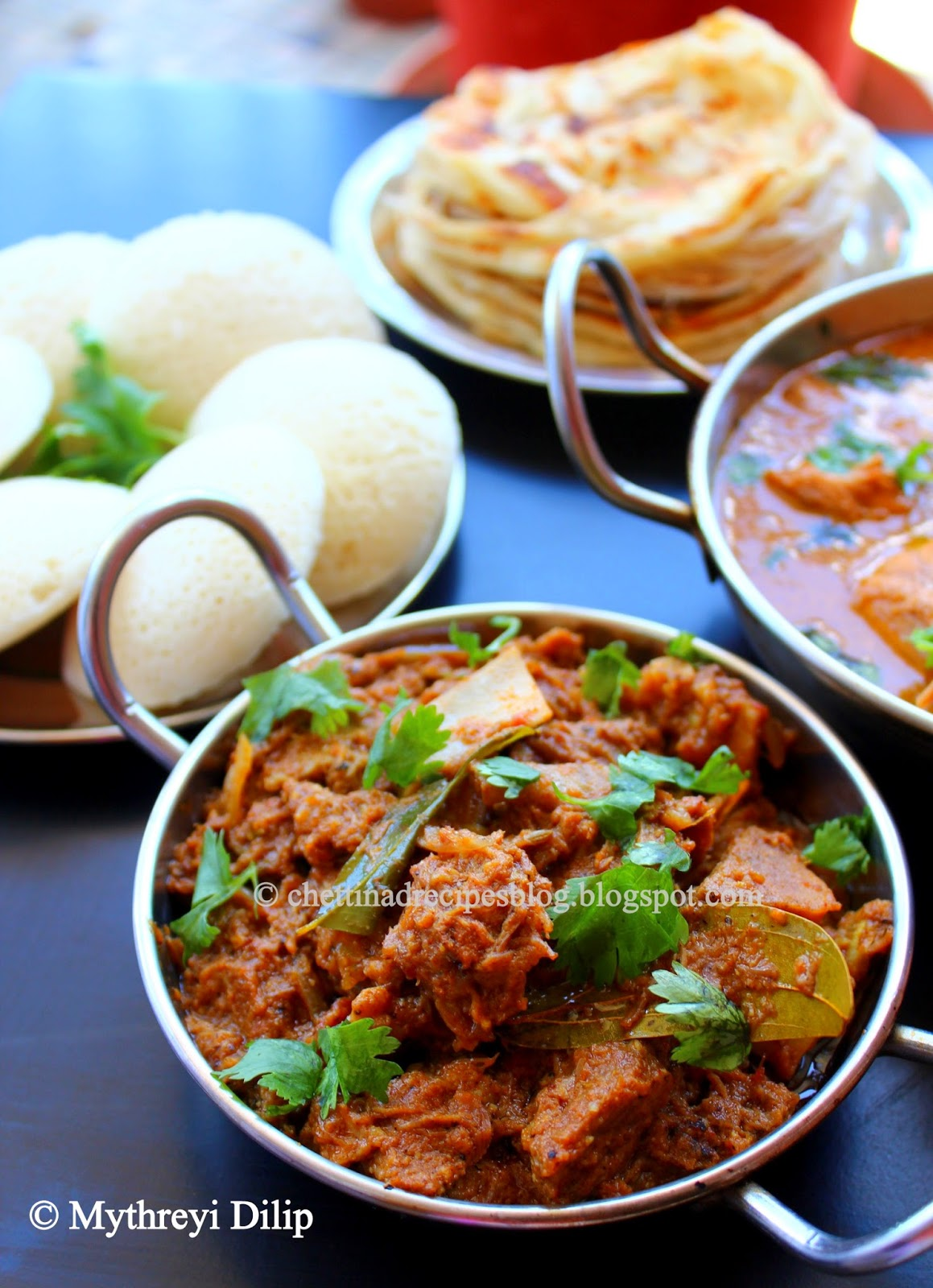 chettinad mutton masala / attu kari masala  – pressure cooker method.