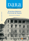 Portada Archivo Histórico Provincial de Huesca DARA