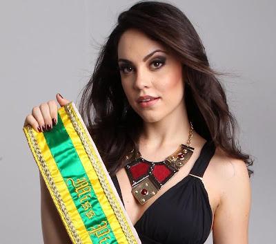 A linda jovem Jéssica Camargo eleita miss Piauí 2012 fala em entrevista quais seus planos para o fu