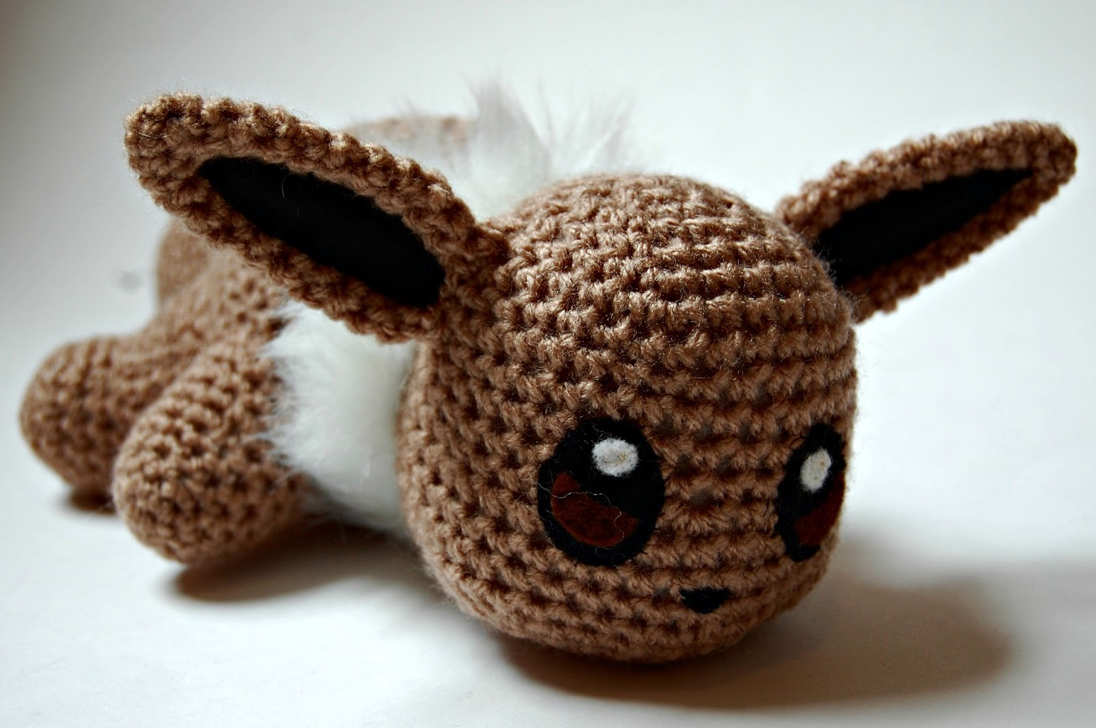 the geeky knitter: fo: crochet baby eevee