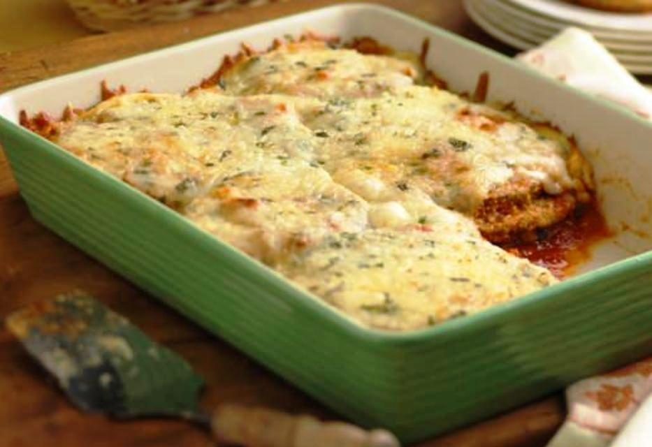 The Bestest Recipes Online: Eggplant Parmesan