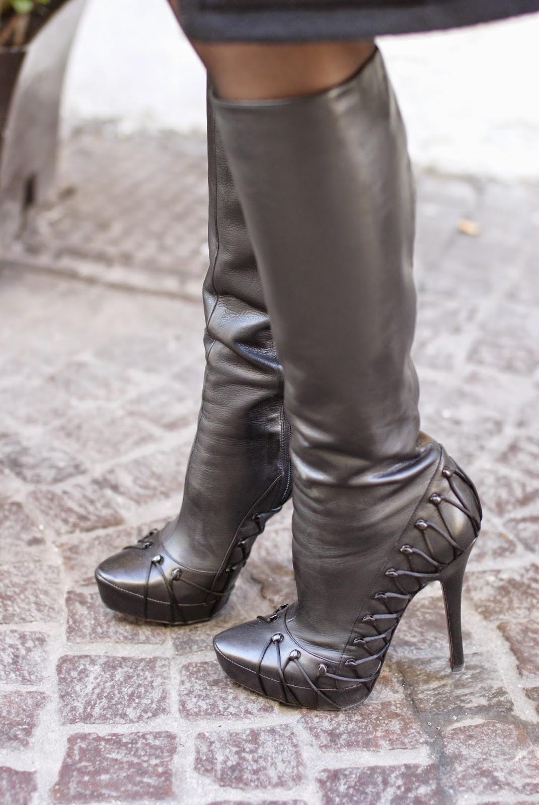 Cesare Paciotti boots, fetish stiletto boots, Fashion and Cookies, fashion blogger