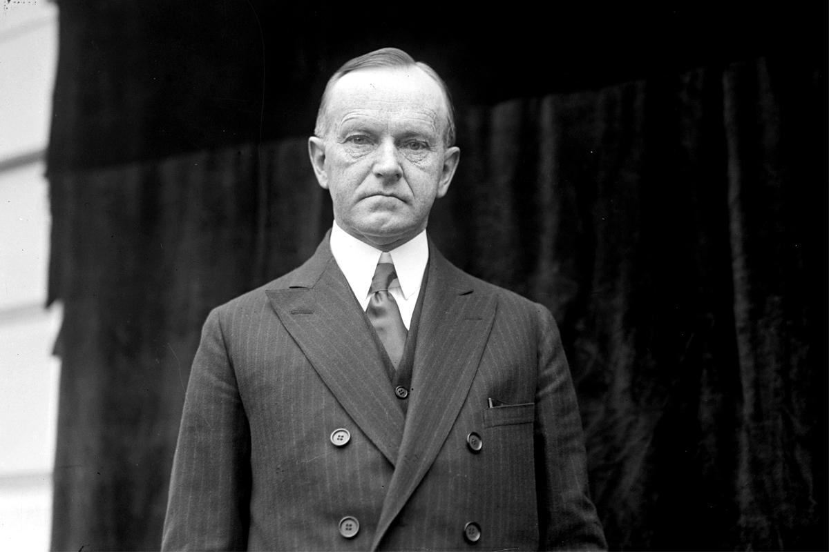 Calvin Coolidge, the 30th President of the United States