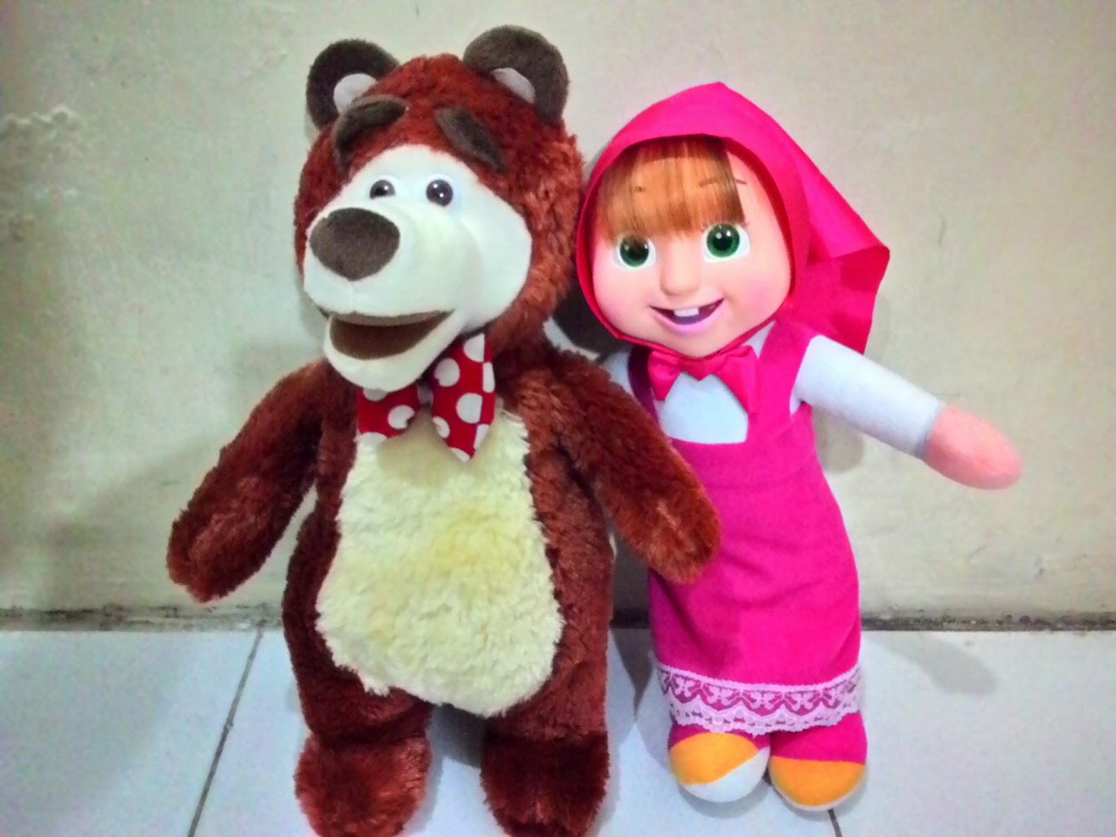 Kumpulan 16 Gambar Boneka Masha Lucu Terbaru Untuk Anak Si Gambar