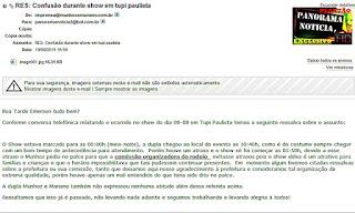 Abaixo o e-mail da Assessoria de Munhoz e Mariano...COMPLETO