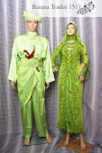 Baju Perkahwinan Hijau