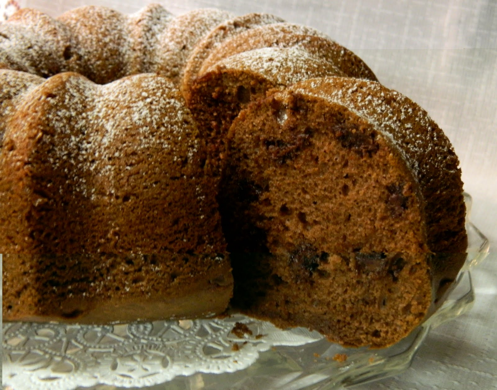 Sugar Spice and Spilled Milk: Chocolate Chip Rum Cake