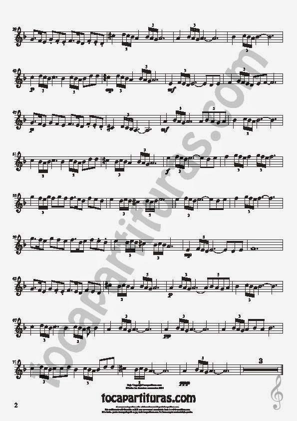 2  Bulería Lenta Partitura de Violín Sheet Music for Violin Music Scores Music Scores Flamenco