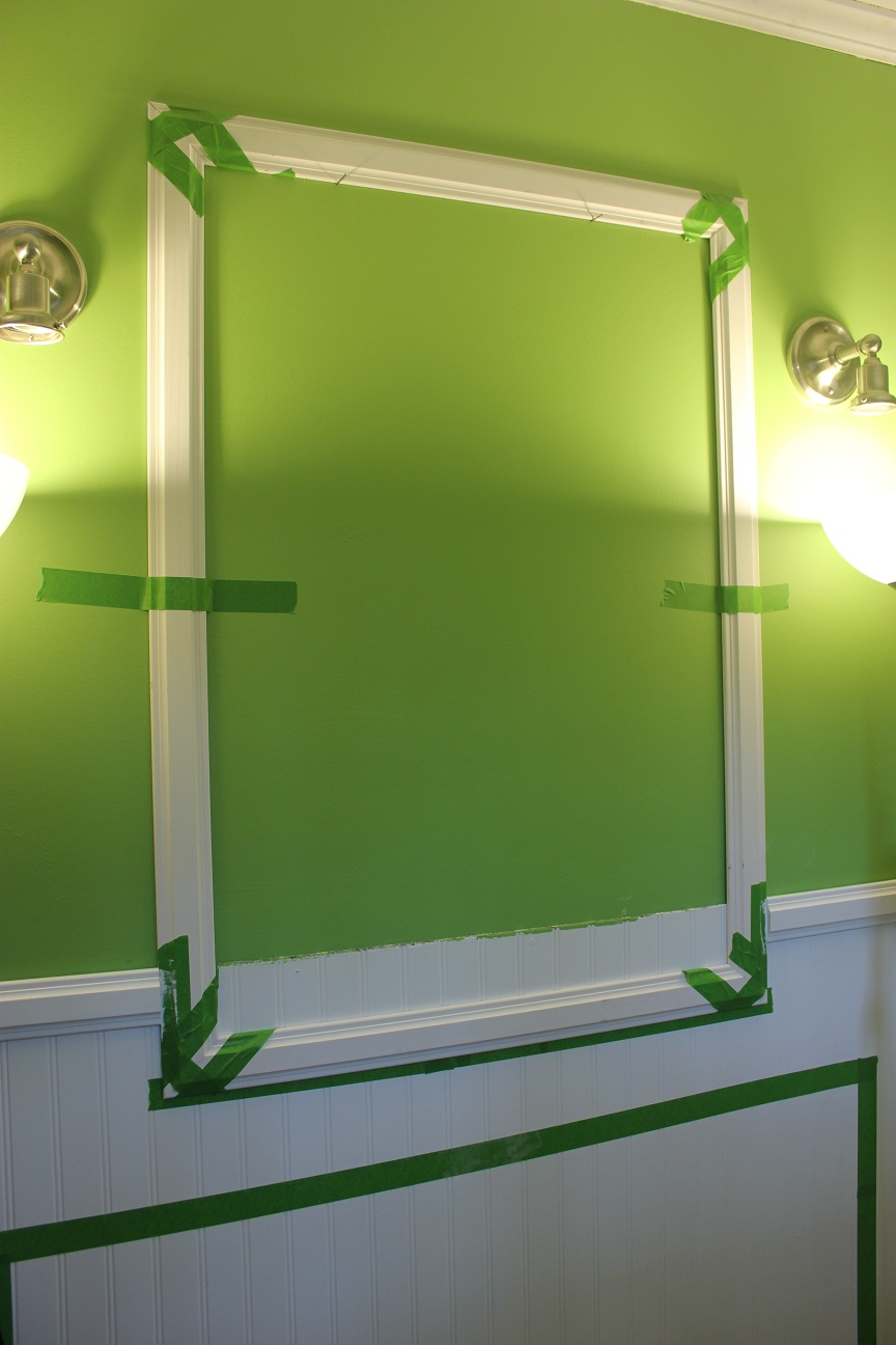 Custom framed bathroom mirrors for Unique mirror frames