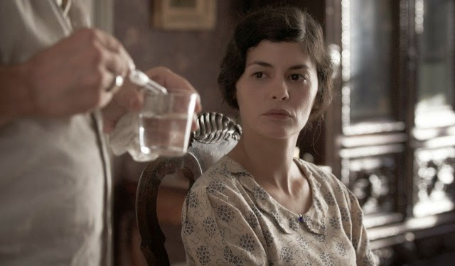 Atriz Audrey Tautou no filme Thérèse Desqueyroux