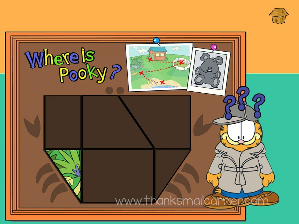Joy Sprouts Garfield puzzle