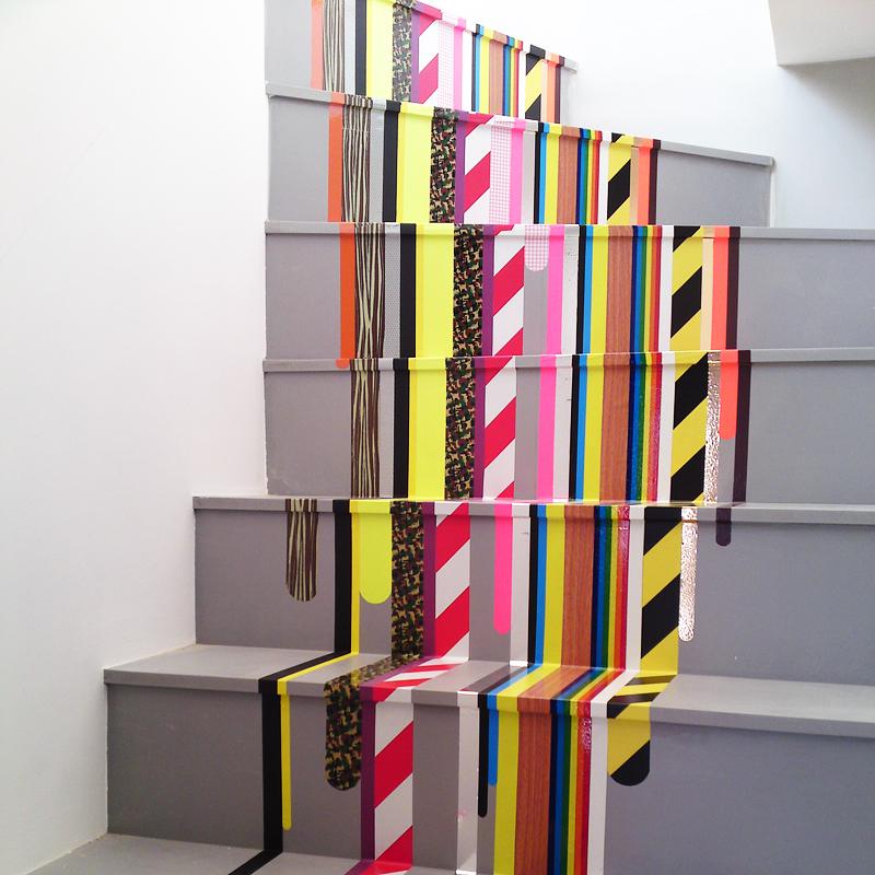 Escaleras con arte Les-escaliers-decores-et-colores-une-tendance-deco-tres-prisee-10772447fqxpt