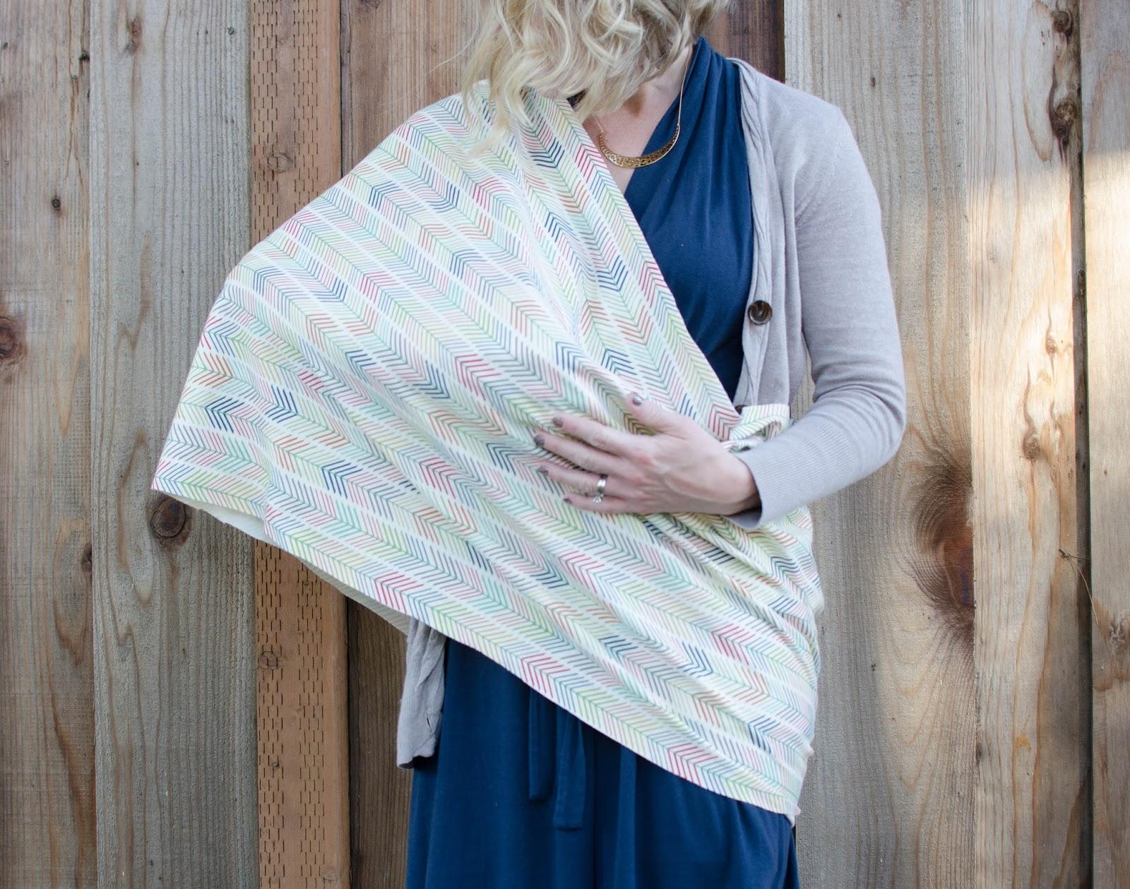 these little loves: Free Pattern: Nursing Infinity Scarf DIY