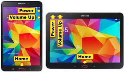 Cara Reset SAMSUNG Galaxy Tab 4