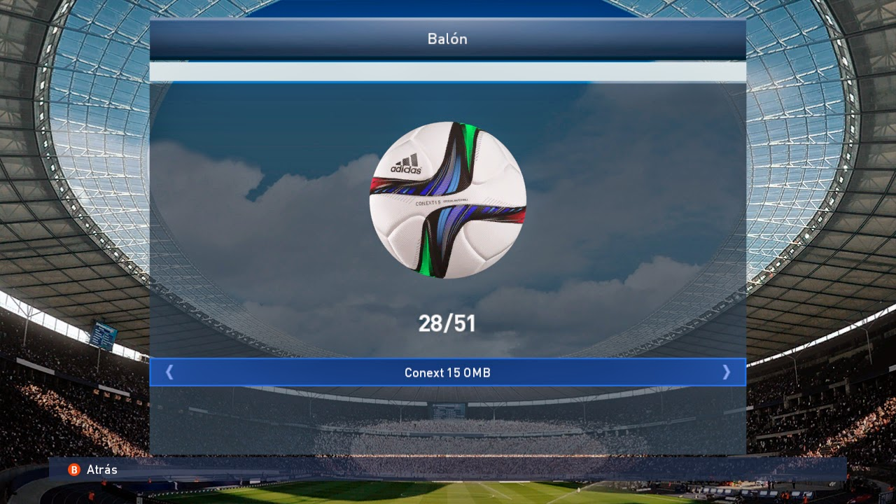 PES 2015 Unlock 50 Balls in Exhibition (DLC 2.00)