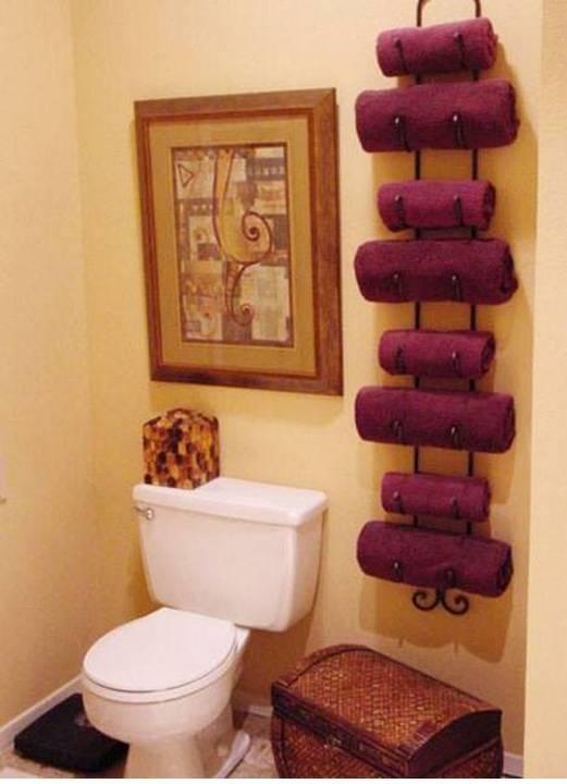 Home Decor 15 Diy Pretty Towel Arrangements Ideas