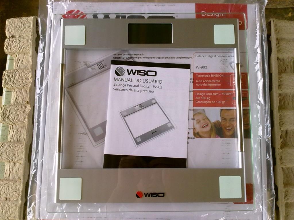 Abaixo os dados técnicos da balança Wiso informados no manual. #2B220C 1024x768 Balança Digital Banheiro Wiso