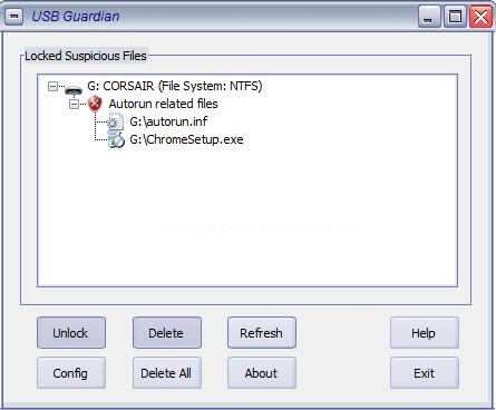 تحميل برنامج إزاله فيروسات الفلاشات USB Guardian اخر اصدار