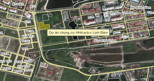 Chung cư HH4 Linh Đàm