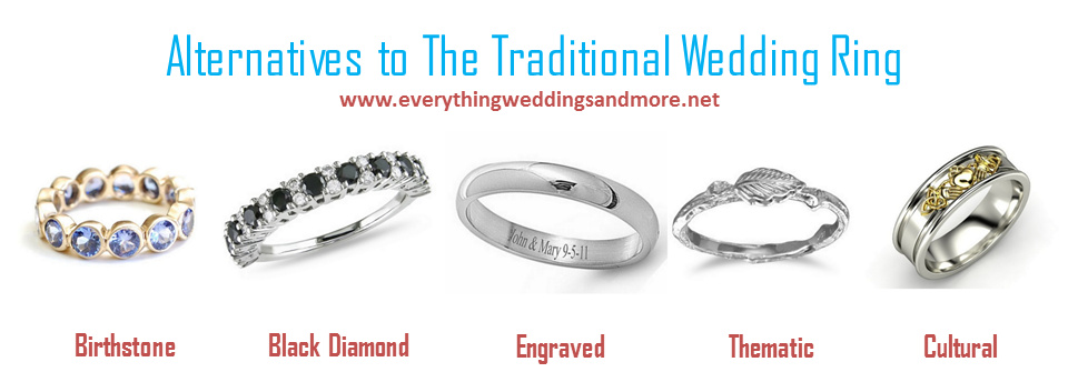 Alternatives to the Traditional Wedding Ring Guest Post